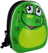 Hard Shell Frog Animal Kids School Backpack Childrens Hand Luggage Bag - 062/323