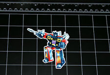 Transformers G1 Rumble box art vinyl decal sticker Decepticon 80s