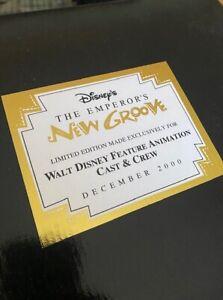 Disney Emperor's New Groove Kuzco Llama Maquette Cast/Crew Gift New in Box #657