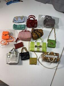 Lot of Vintage Barbie Bags, Purses, Totes, Cluctches, Accessories! FR Vogue etc.