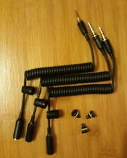 3x Black LifeProof iPhone 5 Case Headphone Cable Adapter Holder & Jack Plug
