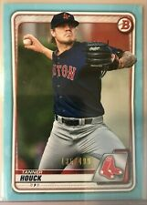 2020 Topps Bowman Tanner Houck Red Sox Prospect Base Paper Sky Blue /499