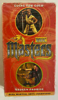 WMAC Masters Martial Arts Champions VHS Tape 90's Broken Promise Tiger Claw SS