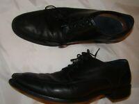 Black Cole Haan Men's Formal Shoes SIZE 12 US - Calhoun Lace Up Oxford - done
