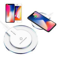 Qi Wireless Charger Pad Charging Dock for iPhone X iPhone 8 Galaxy Note 8 S9/S9+