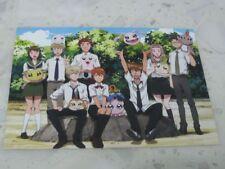 Digimon tri Movie 4 POSTCARD Koromon Tsunomon Tokomon Nyaromon Photo Card Poster