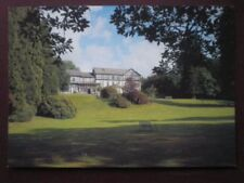 POSTCARD BRECONSHIRE POWYS - LLANGAMMARCH WELLS - THE LAKE COUNTRY HOUSE HOTEL