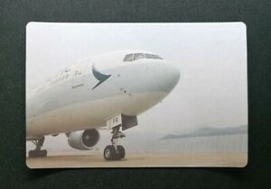 Cathay Pacific Airways Airplane--Cathay Pacific Airways Ad Postcard