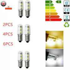 2/4/6PCS 1.5W E14 Cool/Warm White LED Light Bulb Cooker Hood Chimmey Fridge 220V