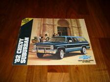 Chevrolet Suburban Prospekt 1982 Amerika