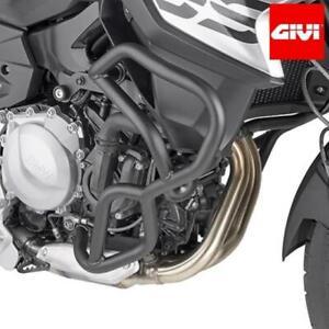 Set Crash BAR Tubular Black GIVI TN5129 Specific For BMW F750 GS/F850 GS