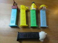 LOT OF 5 PCS PEZ DISPENSER CANDY RARE FIGURE/FIGURINE HALLOWEEN SET #005