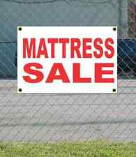 2x3 MATTRESS SALE Red & White Banner Sign NEW Discount Size & Price FREE SHIP