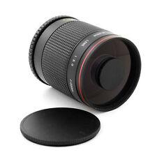 Tele 500mm f/8 Mirror Lens for Micro 4/3 m43 Panasonic Lumix DMC-GX1 Olympus PEN