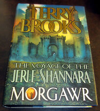 SIGNED by TERRY BROOKS MORGAWR 1st Ed Voyage Jerle Shannara Druid Sorcerer Magic