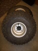 1988 - 2002 ORIGINAL Yamaha Blaster 200 Rear Wheels Rims with Tires