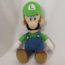 [MINT] Super Mario Luigi Plush M SAN-EI Nintendo Vintage NoTag