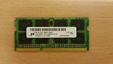 Micron 4GB 2Rx8 PC3-10600S DDR3 1333MHz Laptop RAM SODIMM MT16JSF51264HZ-1G4D1