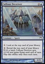 Callous Deceiver *FOIL* HEAVY PLAYED Champions MTG Magic Cards Blue Uncommon
