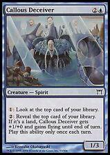 Callous Deceiver *FOIL* HEAVY PLAYED Champions MTG Magic Cards Blue Uncommon