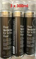 3 x 300ml Hairfor2 -Farbe Grau - 300ml