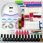 UV LED Nail Lamps Dryer Manicure DIY Salon Home Electric Machine Base Top Polish