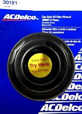 """ACDelco Cap Style Oil Filter Wrench 76MM 14 flutes 3/8""""Dr 30121 Made In The USA"""