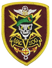 MACV SOG MACVSOG MAC V SOGpatch Special Forces CIA Vietnam French Special Forces