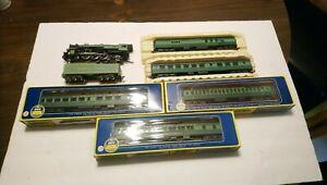 Rivarossi HO Train Southern Ry Crescent🌙 4-6-2 Powered Steam Locomotive/Cars