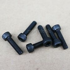 6 Pcs M12 x 1.75 (pitch) x 40mm Allen Hex Socket Head Cap Screws