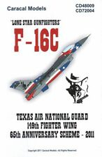 CARACAL MODELS 1/48 F-16C Lone Star personnages nº 48009