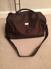Hugo Boss Sports Bag Men Brown New CarryOn Strap Nylon Travel Gym 45x24x9 Perfum
