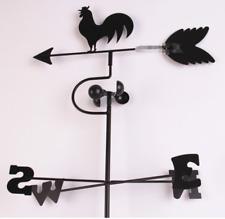 Metal Weather Vane Garden Ornament Decor Spinner Direction Weathervanes