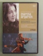 A PIANO EVENING WITH MARTHA ARGERICH  flanders symphony orchestra  DVD