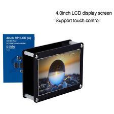 """4.0"""" LCD 480x320 Pantalla Táctil+Caja  Acrilico Para Raspberry Pi+Juego tornillo"""