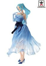 Banpresto One Piece Lady Edge Wedding Nefertari Vivi Figure B Blue Dress Bridal