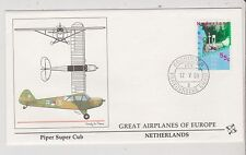 Netherlands  - FDC's - Great Airplanes of Europe - Europa 1988  (1404) (Z)