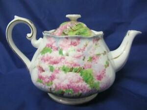 Lovely Royal Albert BLOSSOM TIME Tea Pot Large 2 pint Size c1935+