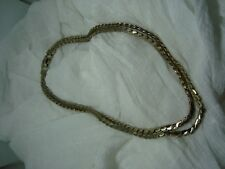 GORGEOUS Vintage SIGNED CORO Gold Tone Double Strand Necklace! A Must See!
