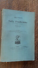 oeuvre de Sully prudhomme Poésies 1878-1879 Lucrèce de la nature des choses 1e
