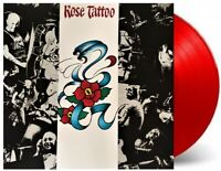 Rose Tattoo Self Titled LP Red Vinyl plus Bonus CD 40th Anniversary Limited Ed