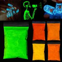 10g Luminous Powder Glow In The Dark Painting Neon Fluorescent DIY Art Making