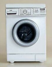 Dolls House Miniature 1/12th Scale White Washing Machine K49W