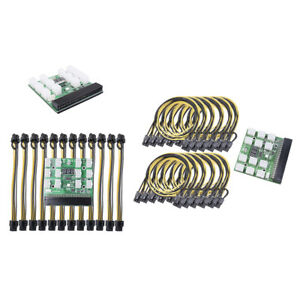 Breakout Board Adapter for Server Power Supply for HP 1200W 750W PSU GPU