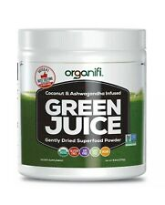 Organifi Green Juice Superfood Powder 30 Day Supply 9.5 Oz Sealed Expires 11/21