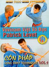 Vovinam Viet Vo Dao - Con Phap Long Staff Techniques Vol.1 DVD Patrick Levet