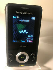 Sony Ericsson Walkman W205 - Black (Unlocked) Mobile Phone Slider