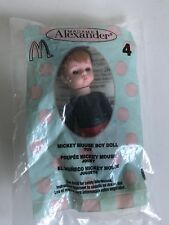 McDonalds Happy Meal Toy  Madame Alexander. Disney MICKEY MOUSE BOY DOLL 2004