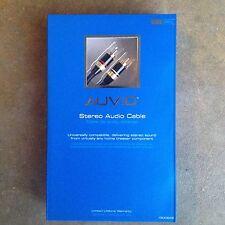 Auvio 12-ft RCA Stereo Audio Cable - NIB