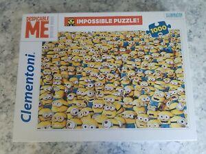 Clementoni Minions Impossible Puzzle 1000 Piece BRAND NEW BRIGHT VIBRANT COLORS